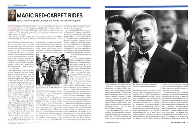 Article Preview: MAGIC RED-CARPET RIDES, May 2004 | Maclean's