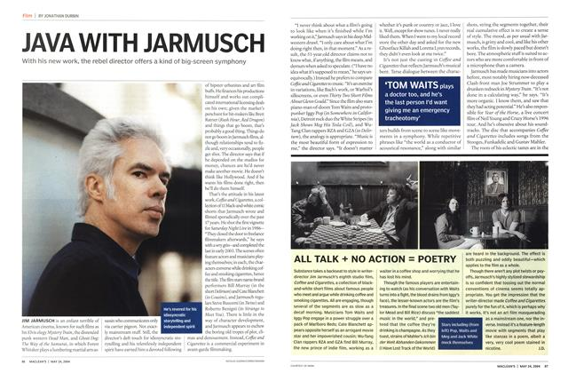 Article Preview: JAVA WITH JARMUSCH, May 2004 | Maclean's