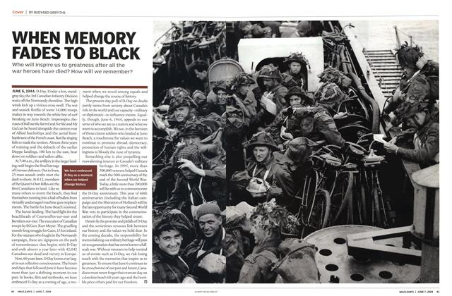 Article Preview: WHEN MEMORY FADES TO BLACK, June 2004 | Maclean's