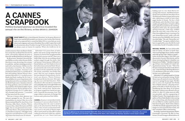 Article Preview: A CANNES SCRAPBOOK, June 2004 | Maclean's