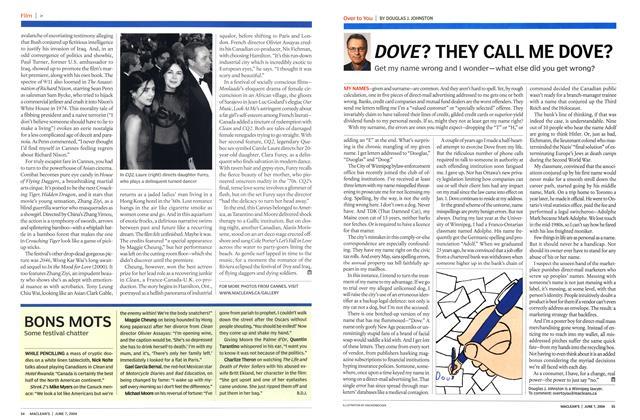 Article Preview: BONS MOTS, June 2004   Maclean's