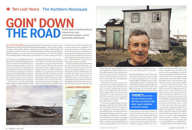 Article Preview: GOIN' DOWN THE ROAD, June 2004 | Maclean's