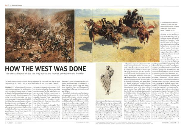 Article Preview: HOW THE WEST WAS DONE, June 2004 | Maclean's
