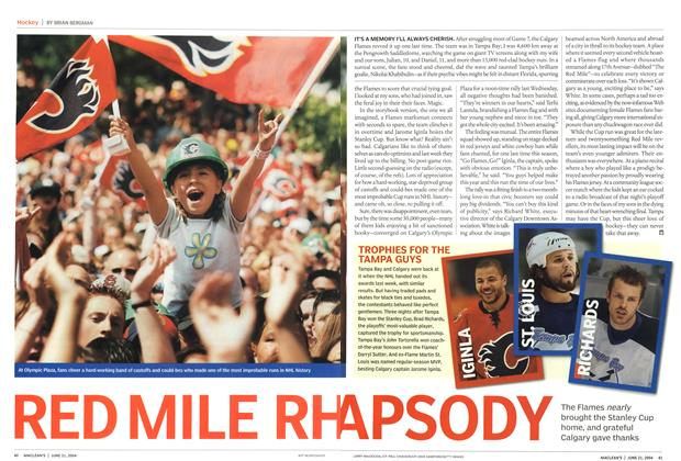 Article Preview: RED MILE RHAPSODY, June 2004 | Maclean's