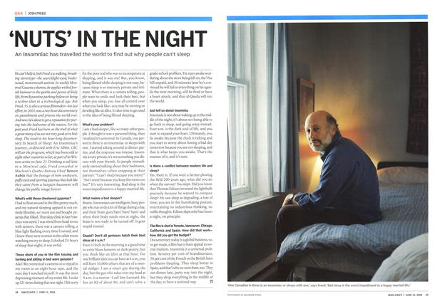 Article Preview: NUTS' IN THE NIGHT, June 2004 | Maclean's