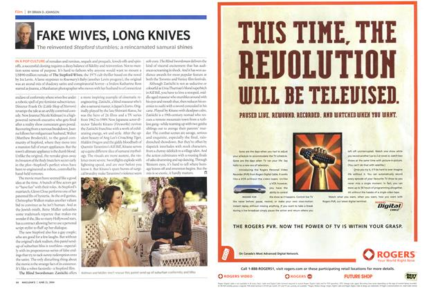 Article Preview: FAKE WIVES, LONG KNIVES, June 2004 | Maclean's