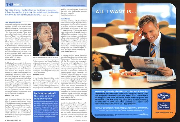 Article Preview: THE MAIL, June 2004 | Maclean's