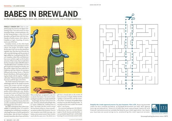 Article Preview: BABES IN BREWLAND, July 2004 | Maclean's