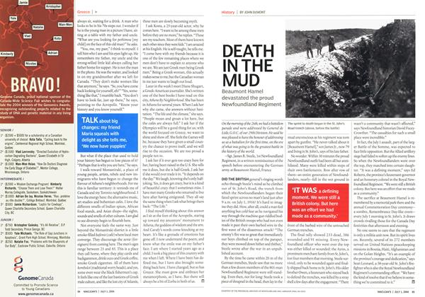Article Preview: DEATH IN THE MUD, July 2004 | Maclean's