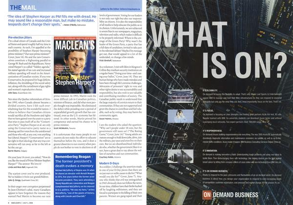 Article Preview: THE MAIL, July 2004 | Maclean's