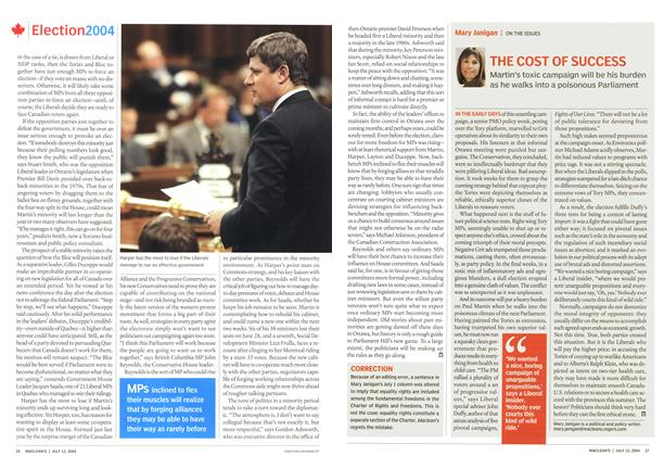 Article Preview: THE COST OF SUCCESS, July 2004 | Maclean's