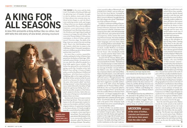 Article Preview: A KING FOR ALL SEASONS, July 2004 | Maclean's