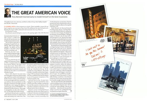 Article Preview: THE GREAT AMERICAN VOICE, July 2004 | Maclean's