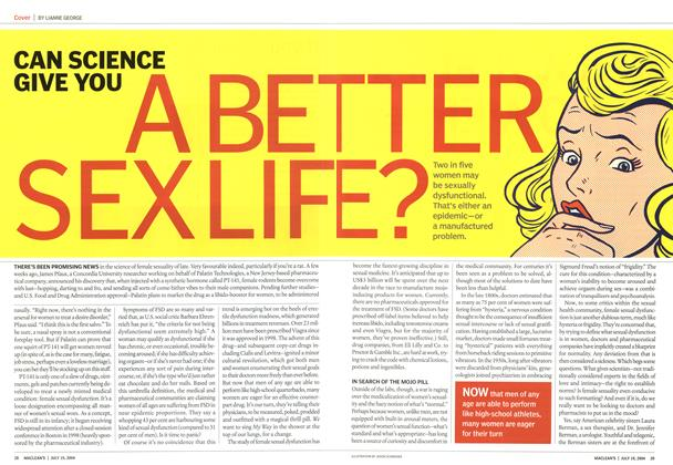 Article Preview: CAN SCIENCE GIVE YOU A BETTER SEX LIFE, July 2004 | Maclean's