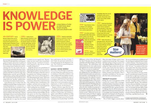 Article Preview: KNOWLEDGE IS POWER, July 2004 | Maclean's