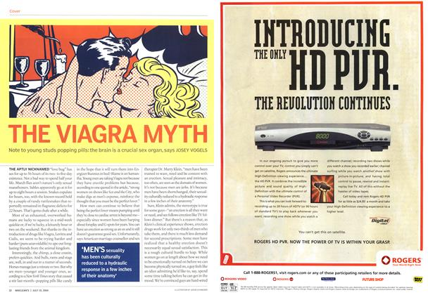 Article Preview: THE VIAGRA MYTH, July 2004 | Maclean's
