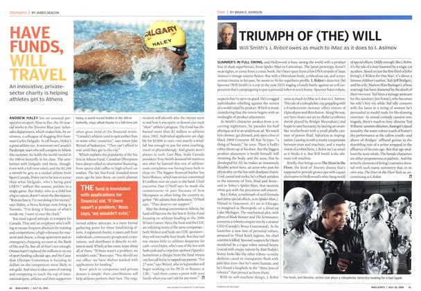 Article Preview: TRIUMPH OF (THE) WILL, July 2004 | Maclean's