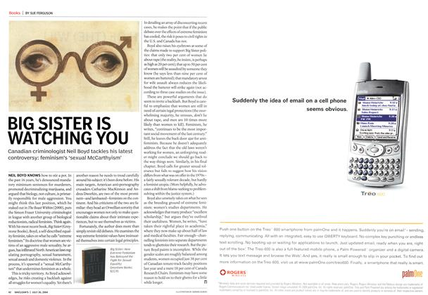 Article Preview: BIG SISTER IS WATCHING YOU, July 2004 | Maclean's