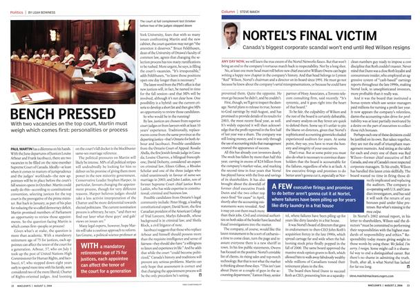 Article Preview: NORTEL'S FINAL VICTIM, August 2004 | Maclean's