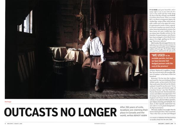 Article Preview: OUTCASTS NO LONGER, August 2004 | Maclean's