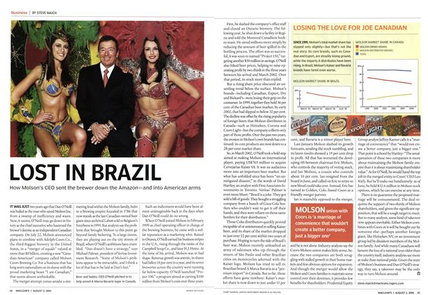 Article Preview: LOST IN BRAZIL, August 2004 | Maclean's
