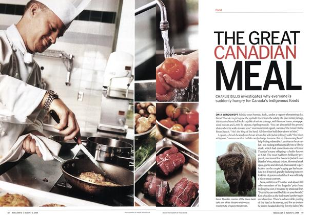 Article Preview: THE GREAT CANADIAN MEAL, August 2004 | Maclean's
