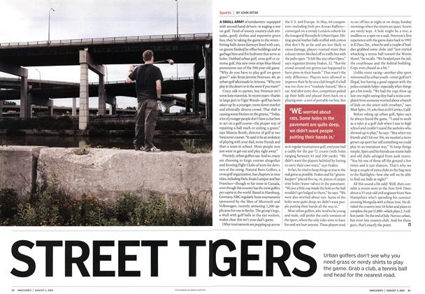 Article Preview: STREET TIGERS, August 2004 | Maclean's