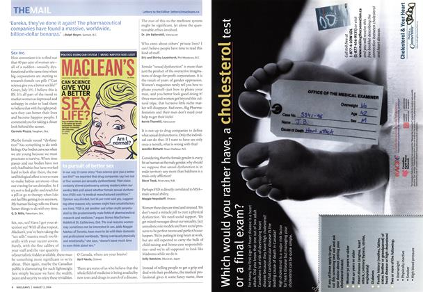 Article Preview: THE MAIL, August 2004 | Maclean's