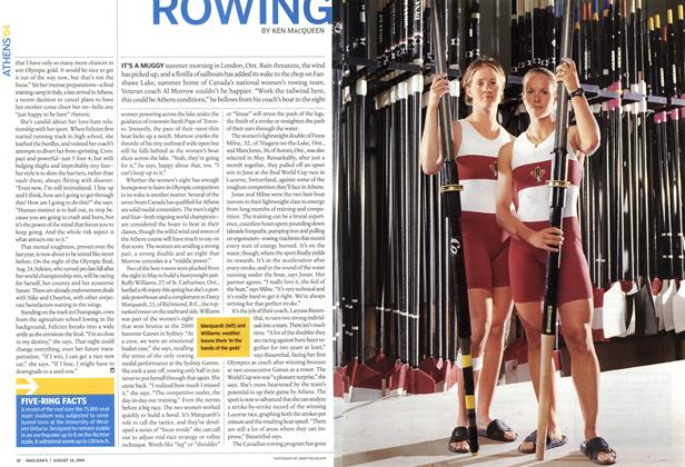 Article Preview: ROWING, August 2004 | Maclean's