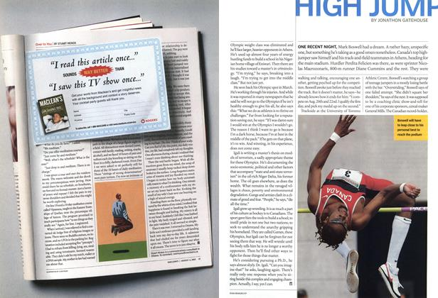 Article Preview: HIGH JUMP, August 2004 | Maclean's