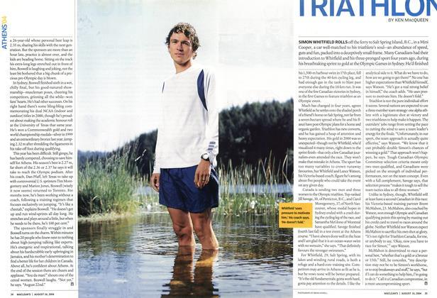 Article Preview: TRIATHLON, August 2004 | Maclean's