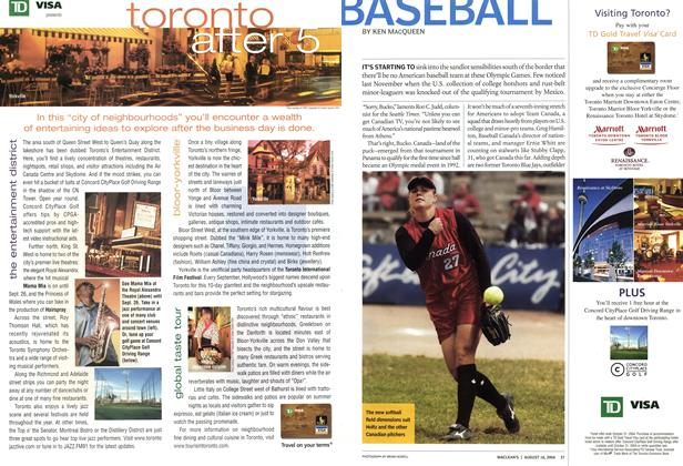 Article Preview: BASEBALL, August 2004 | Maclean's