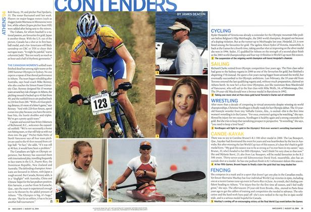 Article Preview: CONTENDERS, August 2004 | Maclean's