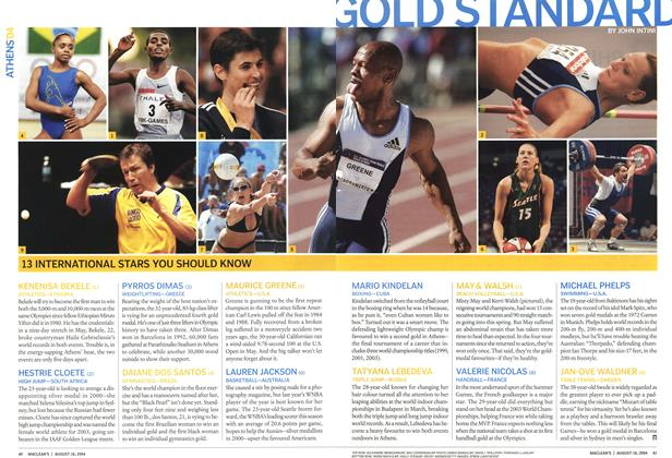 Article Preview: GOLD STANDARD, August 2004 | Maclean's