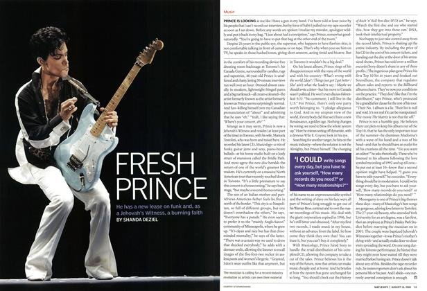 Article Preview: FRESH PRINCE, August 2004 | Maclean's