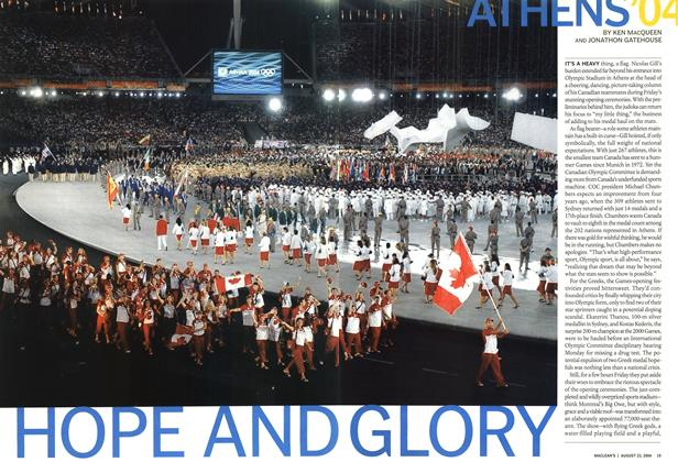 Article Preview: HOPE AND GLORY, August 2004 | Maclean's