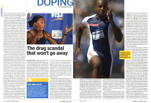 Article Preview: DOPING, August 2004 | Maclean's