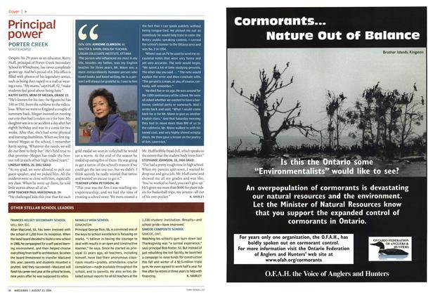 Article Preview: Principal power, August 2004   Maclean's