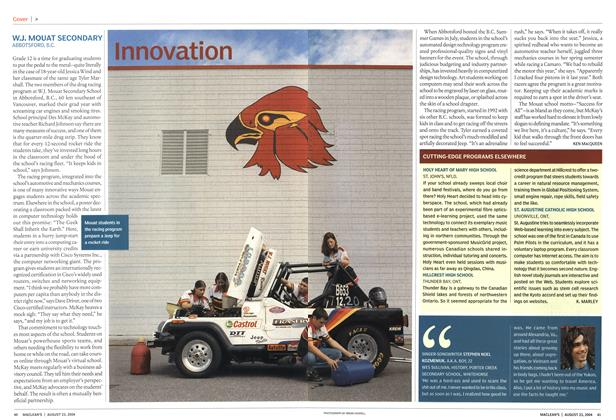 Article Preview: Innovation, August 2004 | Maclean's
