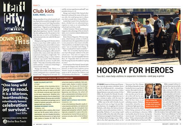 Article Preview: Club kids, August 2004 | Maclean's