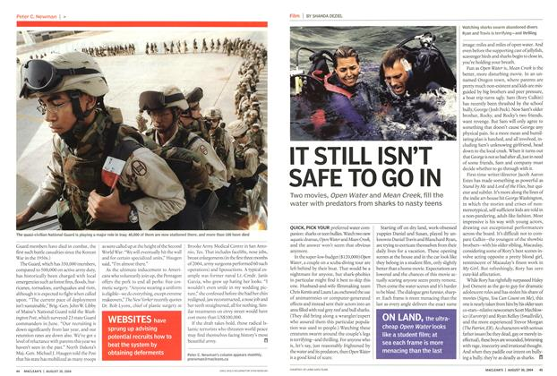 Article Preview: IT STILL ISN'T SAFE TO GO IN, August 2004 | Maclean's