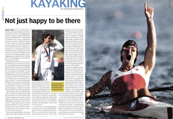 Article Preview: KAYAKING, September 2004 | Maclean's