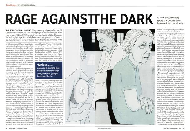 Article Preview: RAGE AGAINST THE DARK, September 2004 | Maclean's