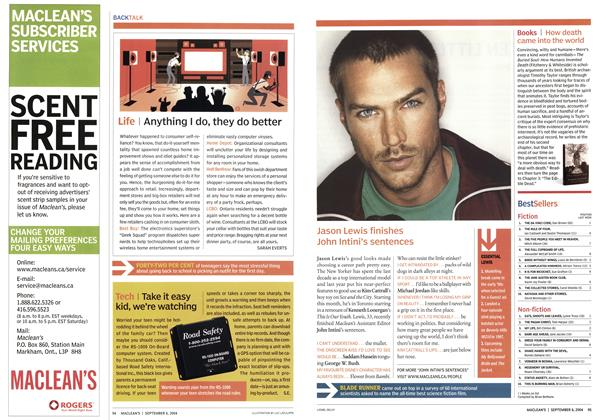 Article Preview: Life, September 2004 | Maclean's