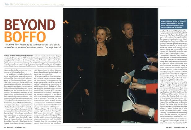 Article Preview: BEYOND BOFFO, September 2004 | Maclean's