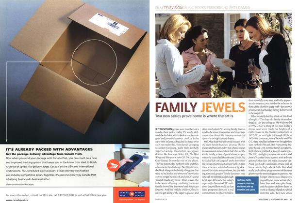Article Preview: FAMILY JEWELS, September 2004 | Maclean's