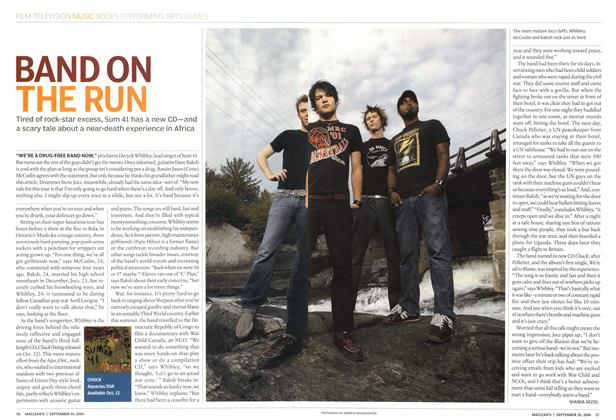 Article Preview: BAND ON THE RUN, September 2004 | Maclean's