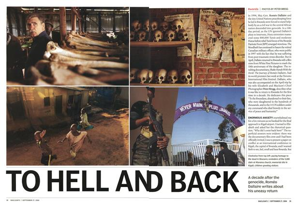 Article Preview: TO HELL AN D BACK, September 2004 | Maclean's