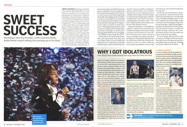 Article Preview: SWEET SUCCESS, September 2004 | Maclean's