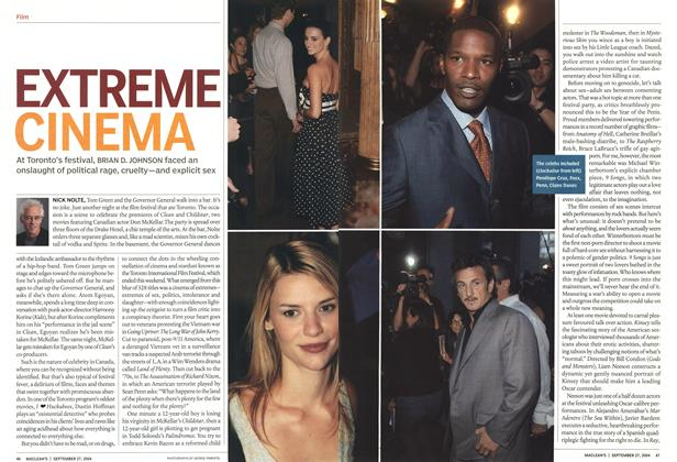 Article Preview: EXTREME CINEMA, September 2004 | Maclean's